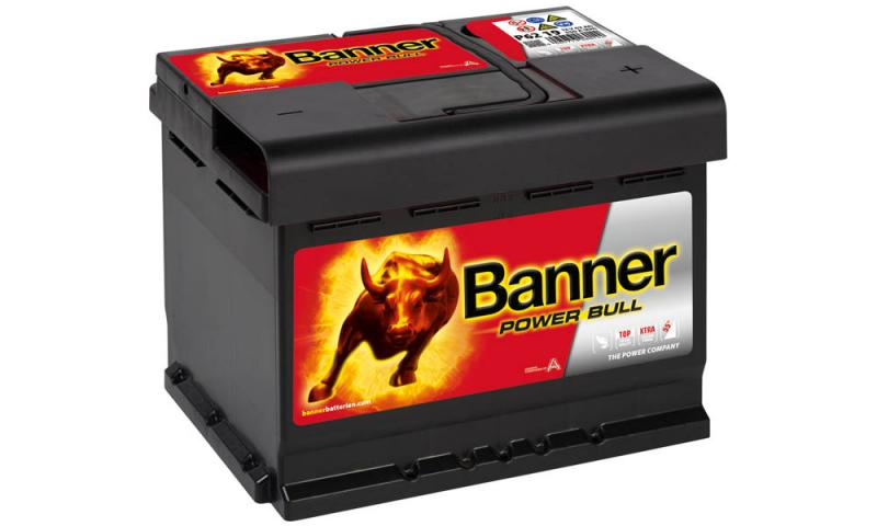 Banner Power Bull  12V 62Ah / P62 19