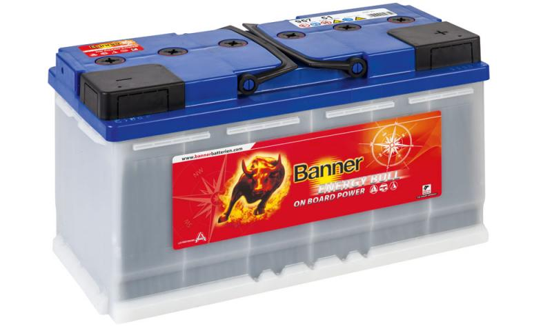banner energy bull 12v 100 ah 957 51 versorgungsbatterien autobatterien. Black Bedroom Furniture Sets. Home Design Ideas