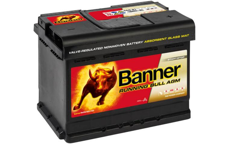 banner running bull 12v 60ah agm 560 01 autobatterien. Black Bedroom Furniture Sets. Home Design Ideas