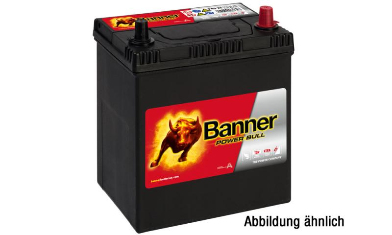 autobatterie banner power bull 12v 40ah p40 25. Black Bedroom Furniture Sets. Home Design Ideas