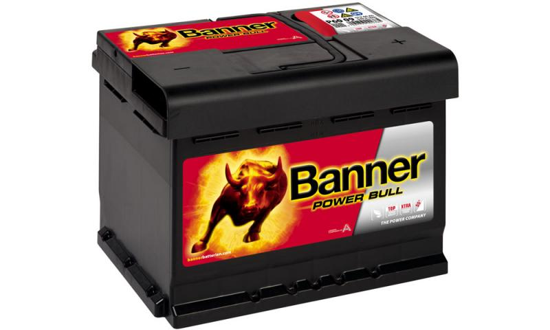 Banner Power Bull  12V 60Ah / P60 09